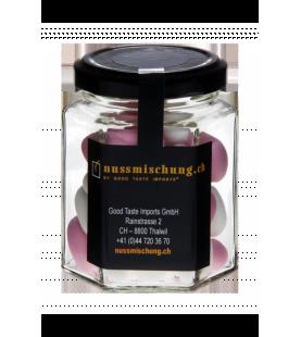 Dragées Mandeln mit Zuckerguss weiss / rosa 110gr