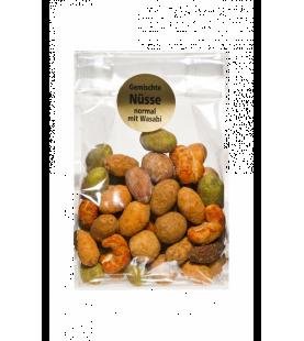 Gemischte Nüsse normal mit Wasabi 100gr