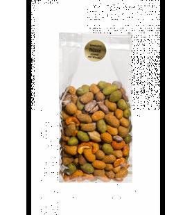 Gemischte Nüsse normal mit Wasabi 500gr