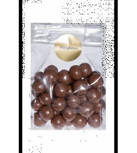 Boules crispis enrobées de chocolat au lait 100gr