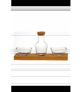 Kleines Set mit Glas Schalen