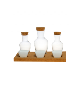 Grosses Set mit Porzellan Schalen