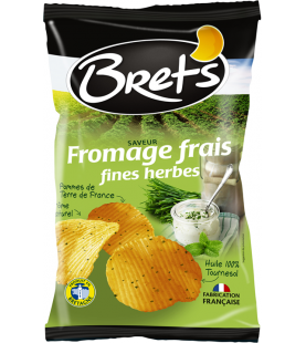 Brets Chips saveur Fromage Frais & Fines Herbes 45gr